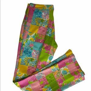Vintage Lilly Pulitzer pants size 2 patchwork